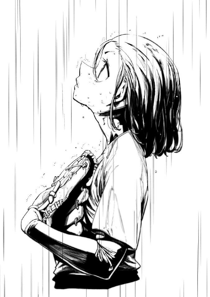 「水も滴るいい女」って言葉があったので描いたら