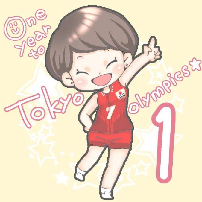 One year to go☆石井優希選手
