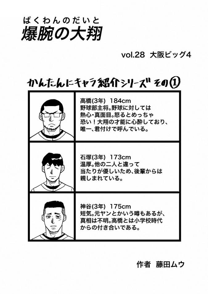 爆腕の大翔 28話(1/2)
