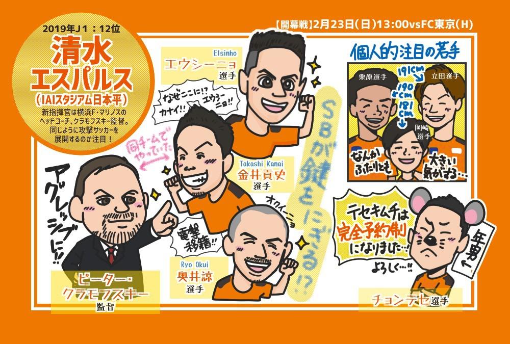 【2020年J1リーグ開幕!】清水エスパルス