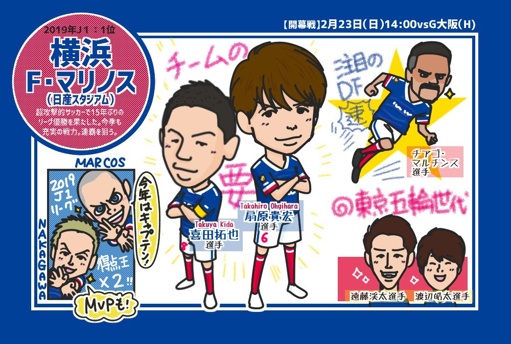 【2020年J1リーグ開幕!】横浜F・マリノス