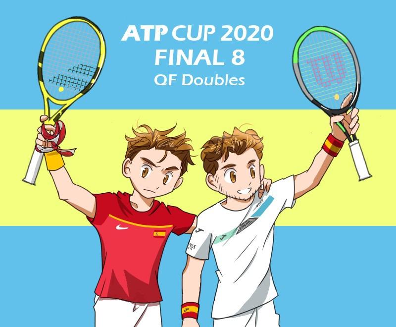ATPカップのスペインペア