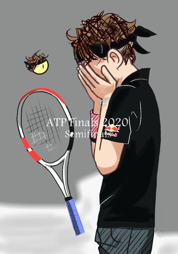 ATPファイナルズ 決勝に進んだよ