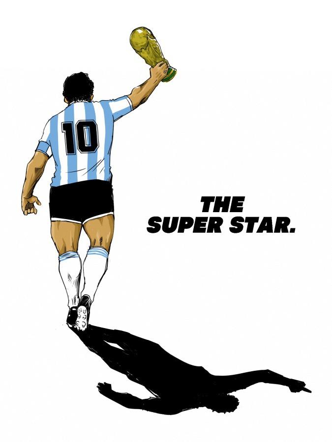 THE SUPER STAR.