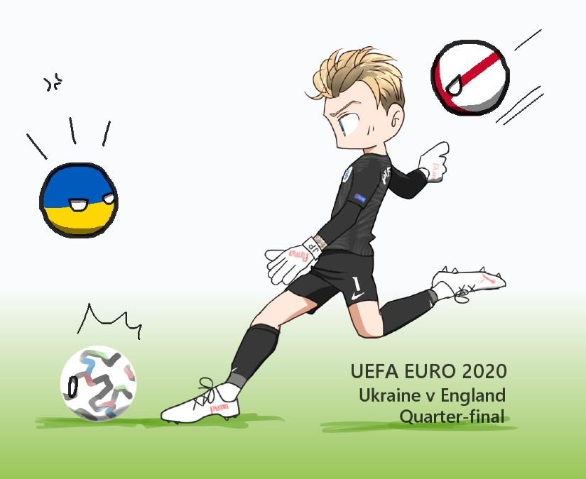 EUROのガーディアン GKのお仕事