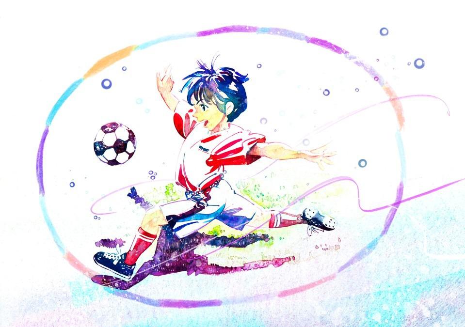 SportsSDGsと水彩