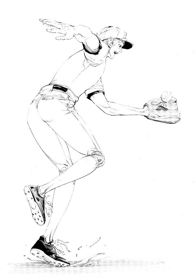 SportsSDGsとペン画