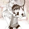 ぼくにテニスを教えるお姉さんは、大きい。②